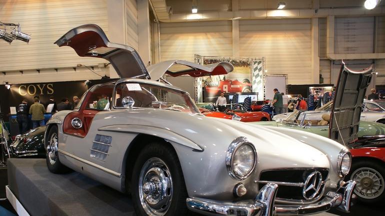 Zabytkowe Mercedesy i Porsche coraz droższe