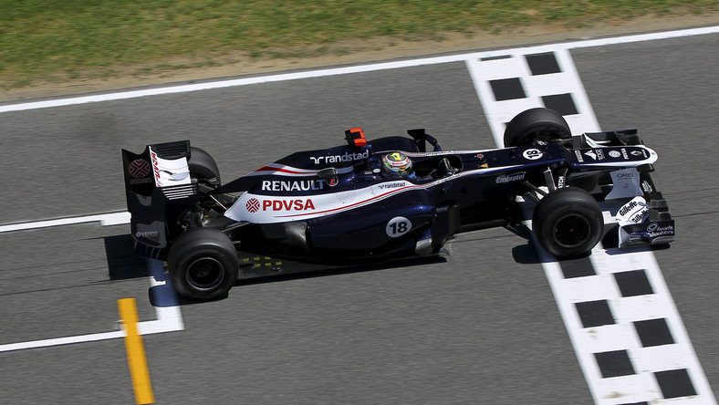 Pastor Maldonado z teamu Williams-Renault