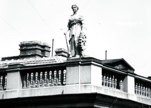 Brodarstvo, Ambasada Republike Turske, 80-te godine XX veka, fotografija u vlasništvu Zavoda za zaštitu spomenika kulture grada Beograda