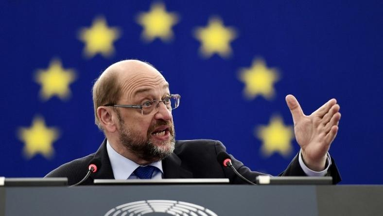 European Parliament President Martin Schulz' name has been circulated as a potential replacement for German Foreign Minister Frank-Walter Steinmeier