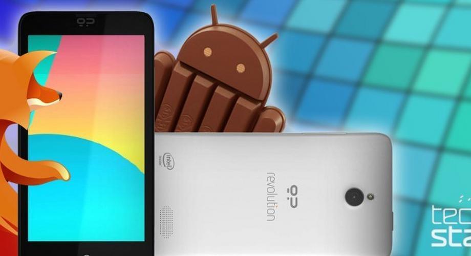 Geeksphone Revolution: Firefox OS & Android auf einem Device?