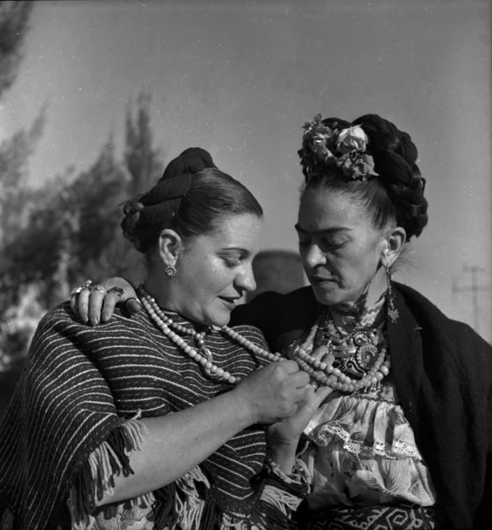Bernice Kolko i Frida Kahlo