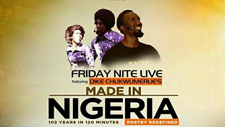 Made in Nigeria poetry theatre
