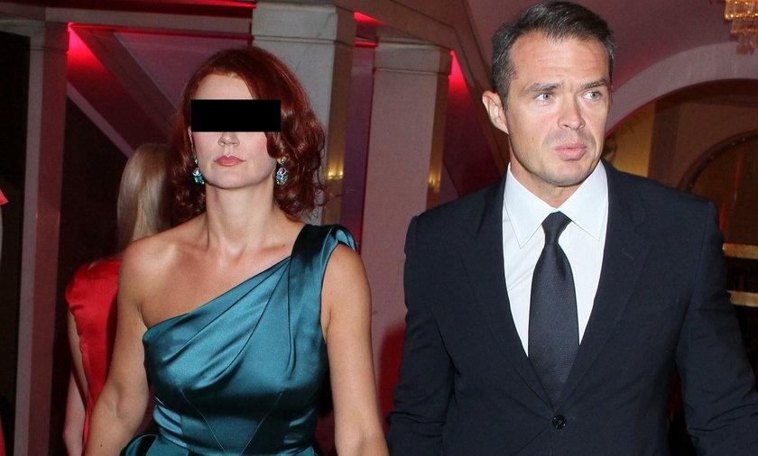 Były polityk PO Sławomir Nowak z żoną Moniką