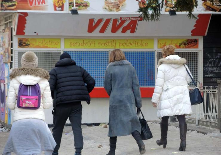"Prodavnica brze hrane ""Viva"""