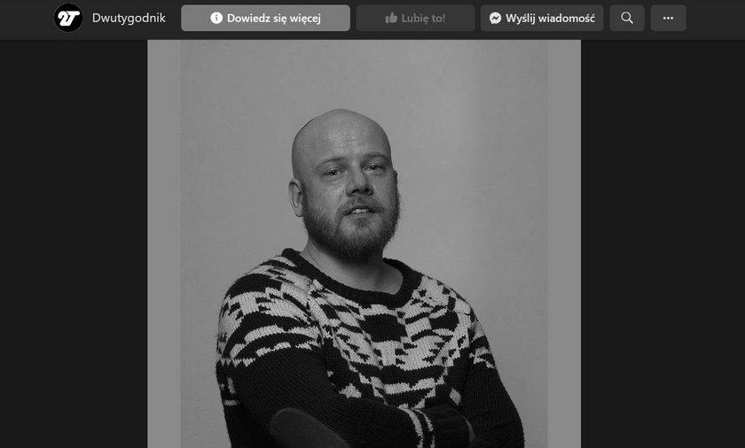 Nie żyje Paweł Soszyński.