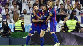 Tak piłkarze Barcy cieszyli się po wygranej z Realem