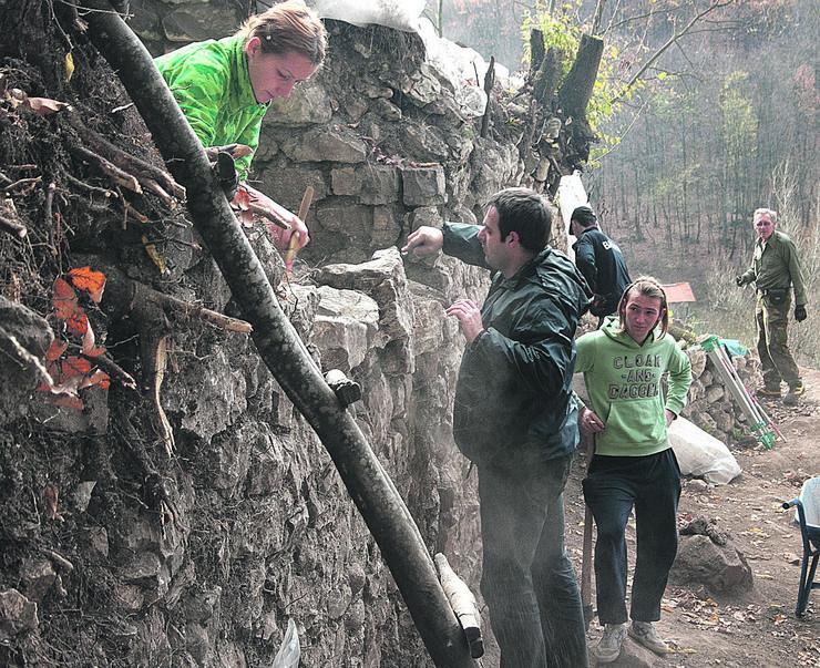 Jerinin grad arheolozi na lokalitetu foto Predrag Vujanac