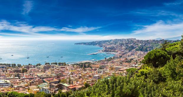 Widok na Zatokę Neapolitańską