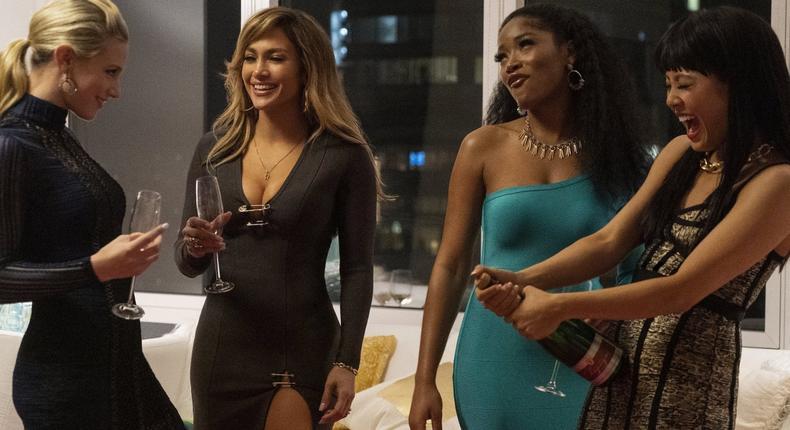 Hustlers has an A-list cast including Jennifer Lopez, Constance Wu, Keke Palmer, Lili Reinhart, Julia Stiles, Cardi B and Lizzo.