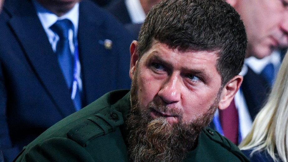 Ramzan Kadyrow, szef Republiki Czeczeńskiej