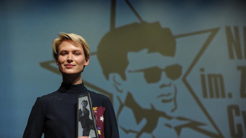 """Agnieszka Żulewska otrzymała Nagrodę im. Zbyszka Cybulskiego za rolę w filmie """"Chemia"""""""