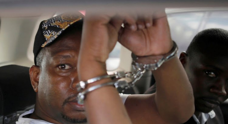 Nairobi Governor Mike Sonko leaves EACC Integrity Centre for day in court