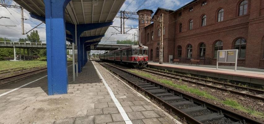 Dramatyczne sceny w Kępnie! 69-latek zginął pod kołami pociągu. Skład ruszył, gdy wysiadał