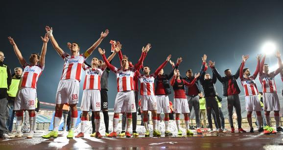 Ne znaju za poraz od 14. oktobra 2017: Fudbaleri Crvene zvezde