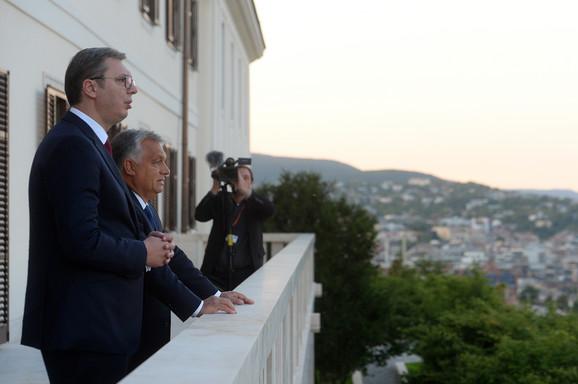 Aleksandar Vučić i Viktor Orban