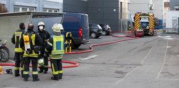 Eksplozja w budynku Lidla. Trzy osoby zostały ranne