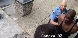 Nieznany film z zatrzymania uduszonego 46-latka. To stało się wcześniej