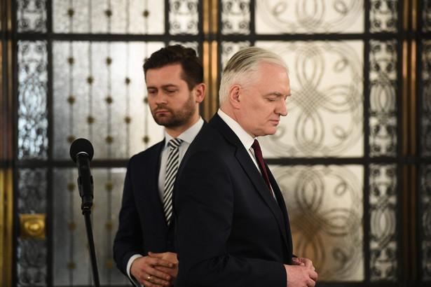 Jarosław Gowin i Kamil Bortniczuk
