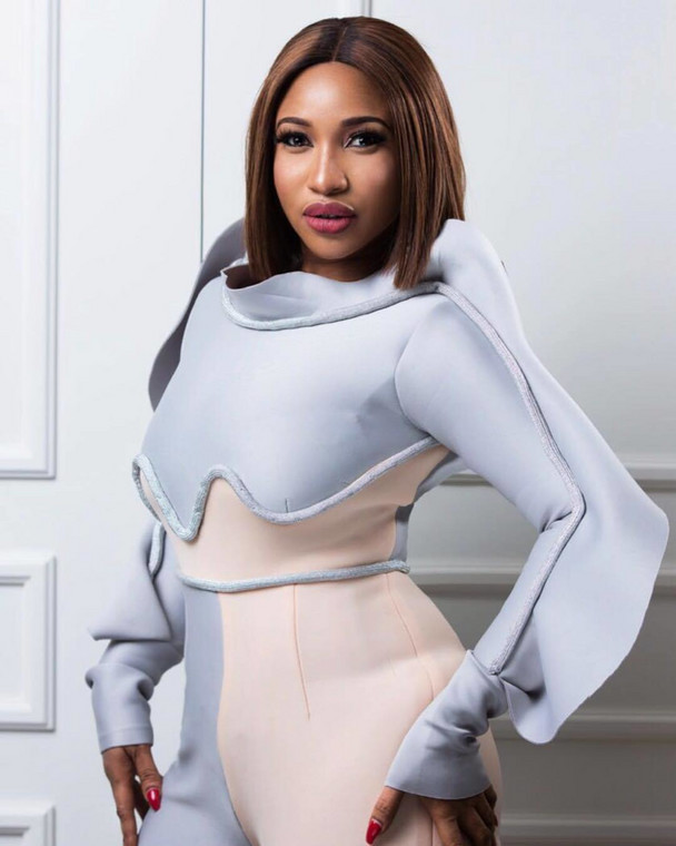 Tonto Dikeh's reactions came after Churchill Olakunle had filed a petition to the Inspector General of Police over her illegal sale of his SUV [Instagram/TontoDikeh]