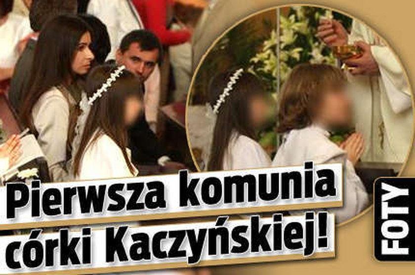 Pierwsza komunia córki Kaczyńskiej! FOTY