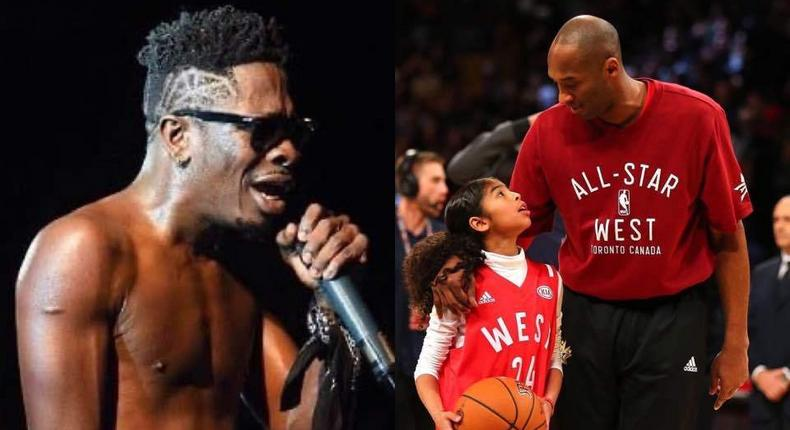 #KobeRIP: Ghanaian Musician, Shatta Wale releases tribute song to honour Kobe Bryant and Gianna