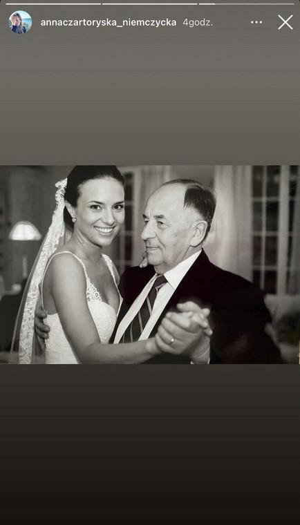 Anna Czartoryska-Niemczycka își amintește de tatăl ei decedat de Ziua Tatălui