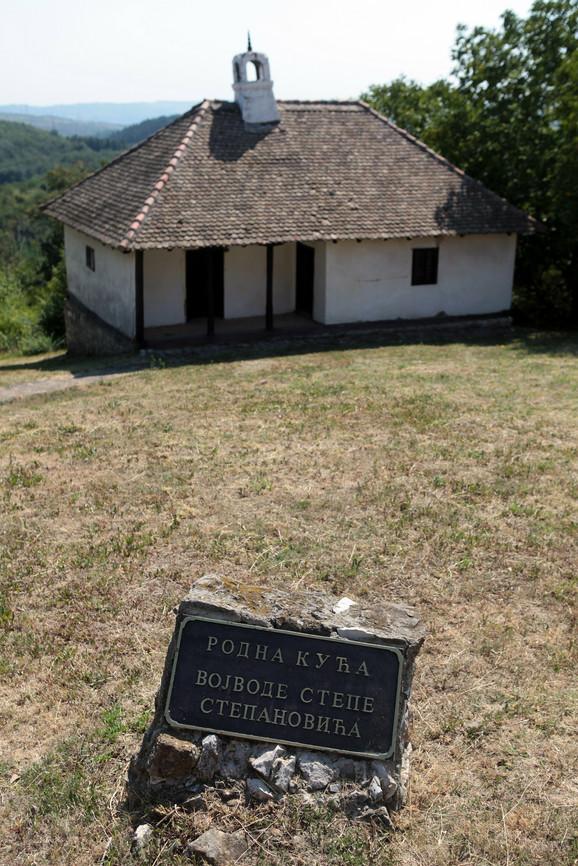 Samo ploča svedoči o istorijskom nasleđu kuće