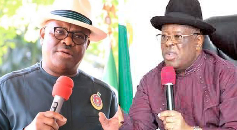 Here are all the bitter words Governors Wike and Umahi threw at themselves after defection