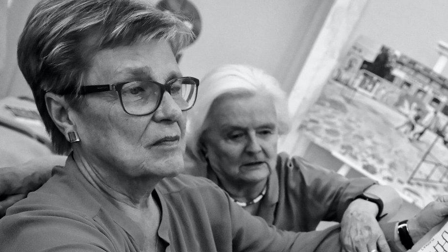 Bożena Walewska w 2019 r. (obok Jolanta Łopuszyńska)
