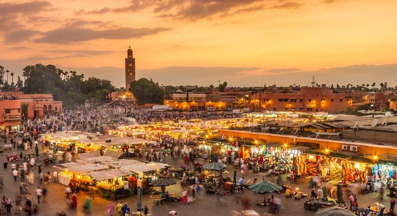 Marrakesh, Morocco is one of the world's top 50 bucket list destinations