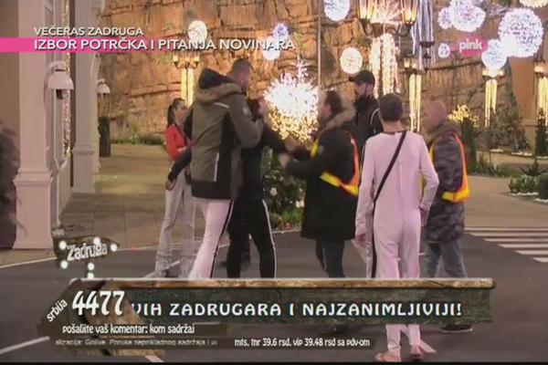 Obezbeđenje reagovalo: Sukom Janjuša i Đeksona otišao predaleko!Video