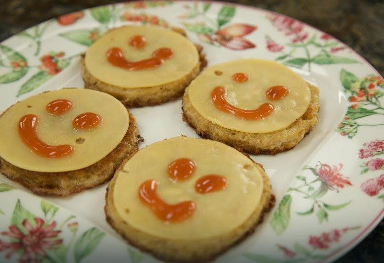 """""""Uśmiechnięte"""" tosty, fot. archiwum prywatne"""