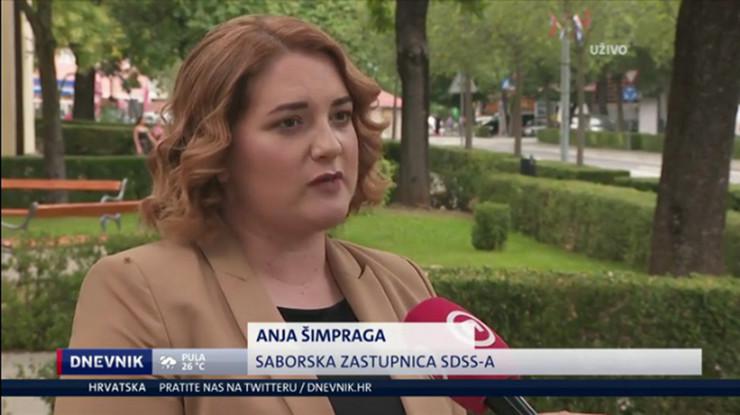 anja simpraga foto Screenshot dnevnik hr