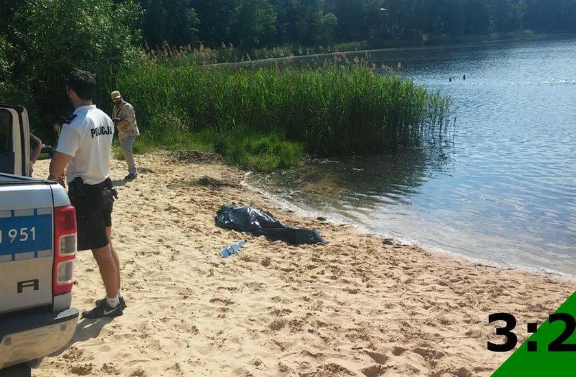 Ciało mężczyzny w jeziorze