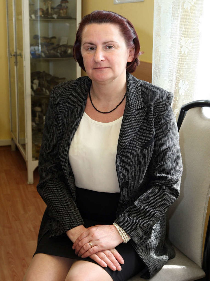 Anna Armatys z Sanepidu w Krakowie