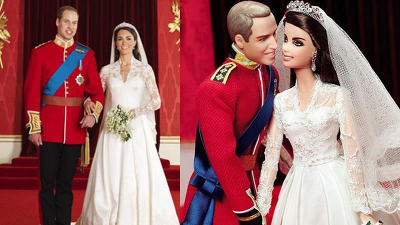 Książę William i Kate Middleton Barbie