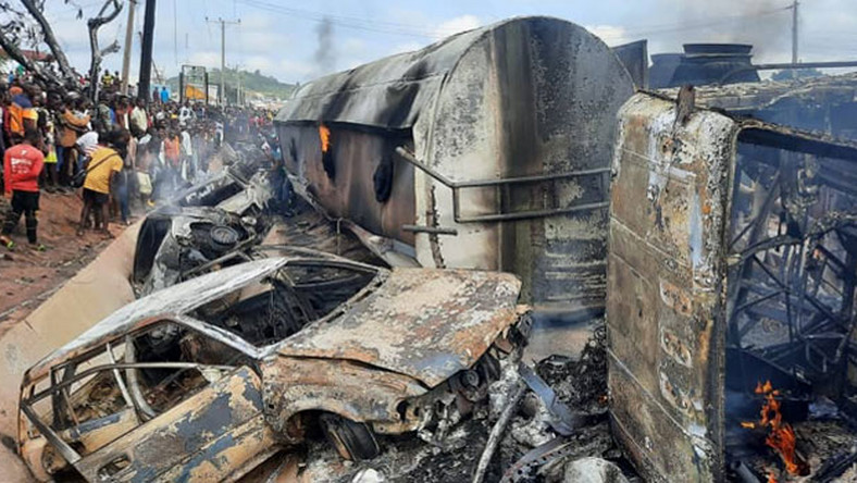 Kogi fuel tanker accident claims at least 23 lives [Channels TV]
