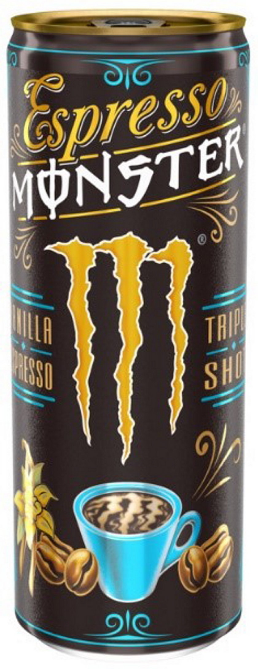 Monster Vanilla Espresso, napój kawowy 250 ml