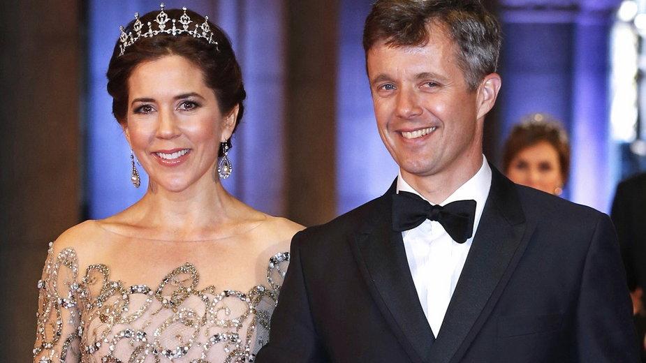 Księżna Mary i ksiażę Frederik - duńska para książęca