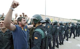 Hiszpania: Konfrontacje pomiędzy Gwardią Cywilną a katalońską policją