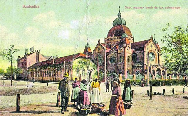 Sinagoga pre oko 100 godina