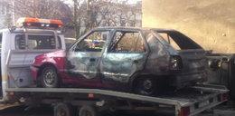 Spłonął samochód w Gdańsku!