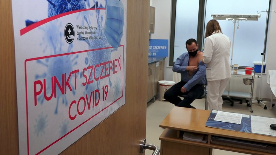 Szczepienia w szpitalu w Gorzowie