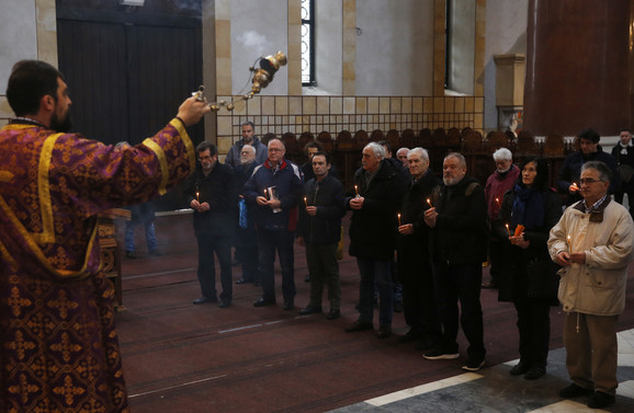 Parastos je održan u Crkvi Svetog Marka