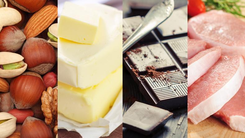 Kaloryczne produkty spożywcze