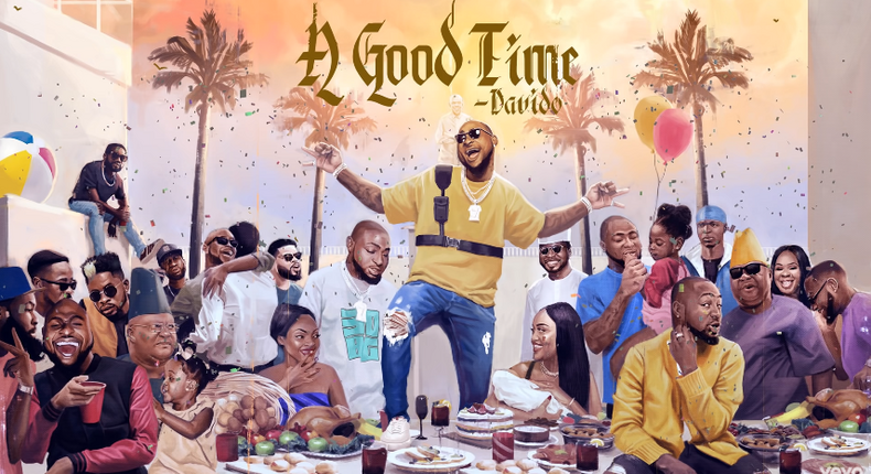 Davido's 'A Good Time' lives in its cohesion [Album Review]. (YouTube/Davido)