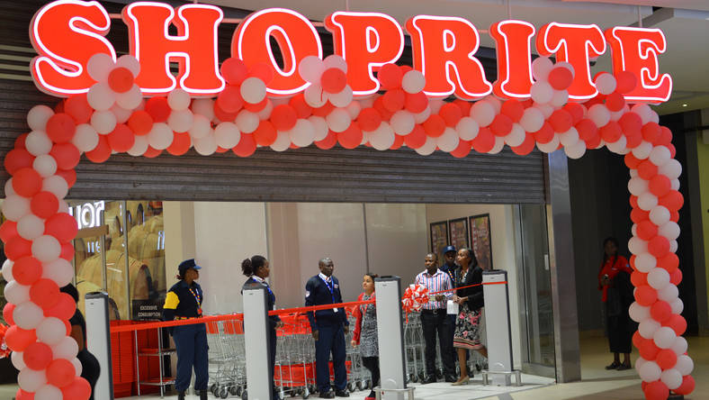 South African-owned retail franchise, Shoprite, has had many of its supermarkets targeted by protesters over xenophobic attacks on foreigners in South Africa (George Tubei)