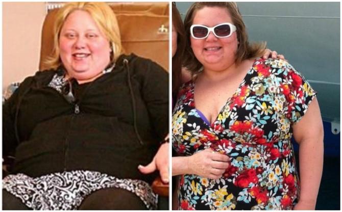 Smršala je preko 75 kilograma!