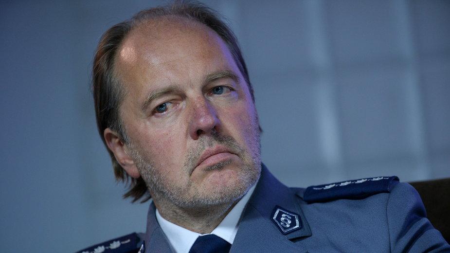 Rafał Jankowski, szef NSZZ Policjantów.